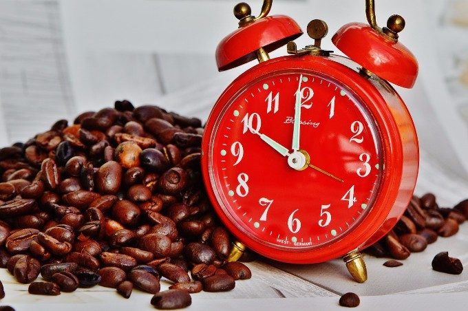 コーヒーは14時まで